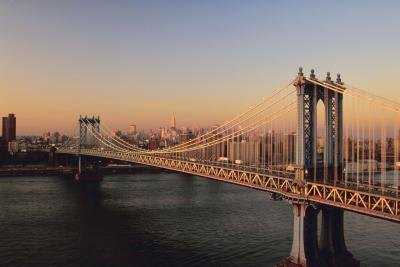 Brooklyn Bridge, NY.