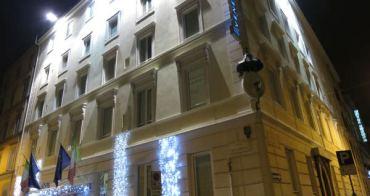 [義大利] Venetia Palace Hotel - 羅馬住宿推薦,Termini車站旁五分鐘,北歐風格簡約新穎飯店