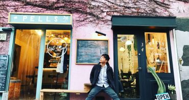 東京 澀谷咖啡廳推薦 Hot Stand Pells - 隱藏在澀谷巷弄間的IG打卡粉紅植物牆
