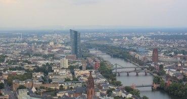 法蘭克福|美茵塔 Main Tower - 德國也有高空展望台,一覽美因河畔迷人美景