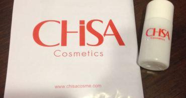 體驗 溫和保養敏弱肌 CHISA肌莎保濕面膜化妝水