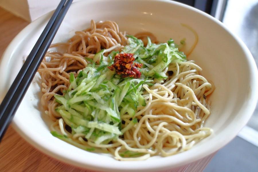 台南 台式麻醬涼麵好滋味,夏天食慾upup,清涼消暑大作戰 台南市東區|國民涼麵
