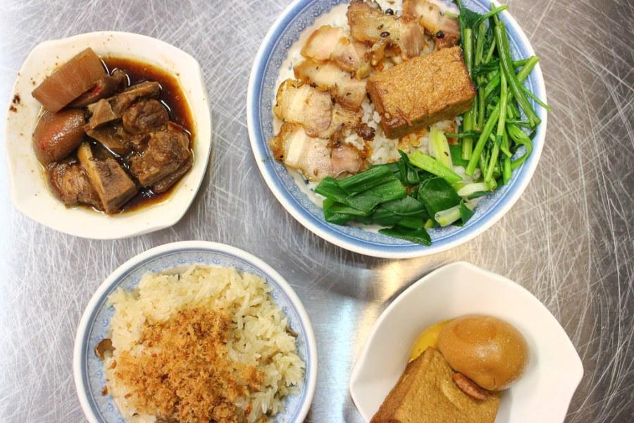 台南 金華路宵夜新選擇,透心豬腳x豬肉飯,油香開胃超滿足 台南市中西區 米哥麻油米糕金華店