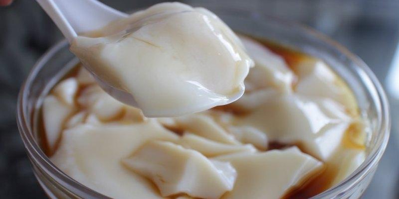 台南 洋菜豆花潛伏佳里 軟~嫩~滑~彈~令人驚豔 台南市佳里區|利達豆花