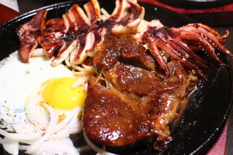 台南 麻豆平價牛排店 台南市麻豆區 午食5分鐵板牛排