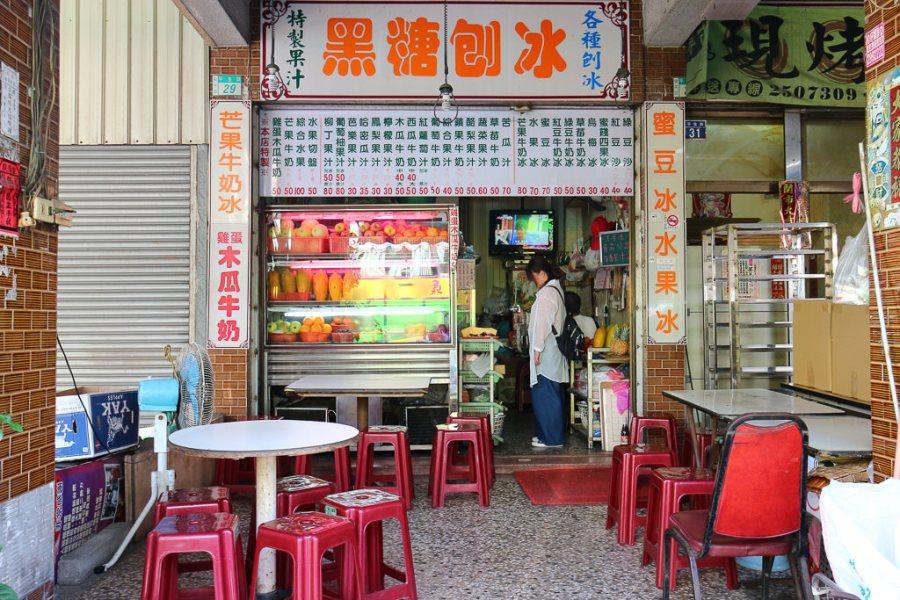 台南 木瓜牛奶竟然可以加雞蛋?台南第一次看到這種搭配的店家欸! 台南市安平區 安平木瓜牛奶大王