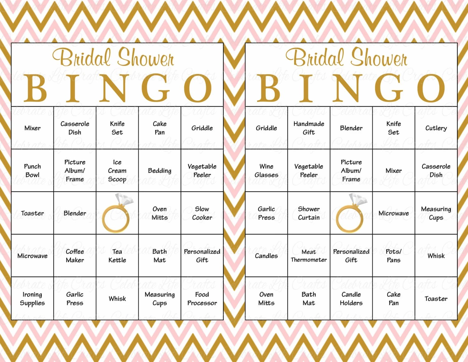 Fullsize Of Bridal Shower Bingo