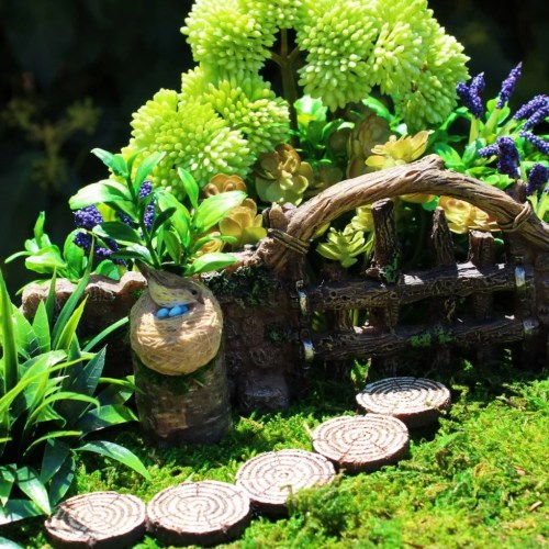 Medium Crop Of Outdoor Miniature Garden