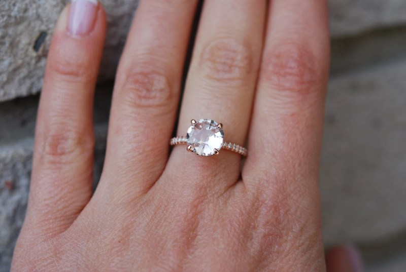 Large Of Round Engagement Rings