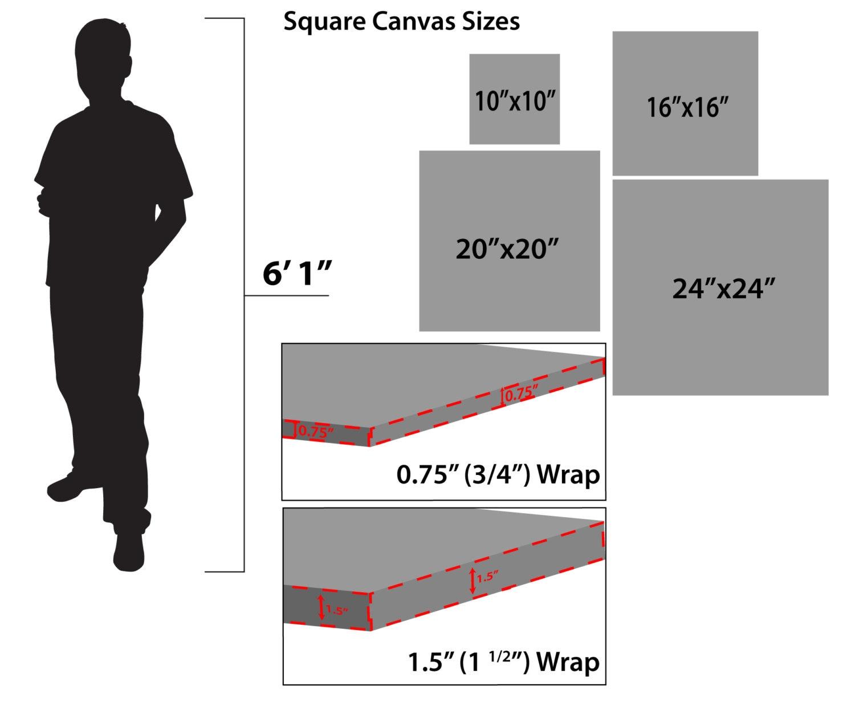 Fullsize Of Standard Canvas Sizes