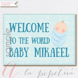 Small Crop Of Welcome Baby Boy