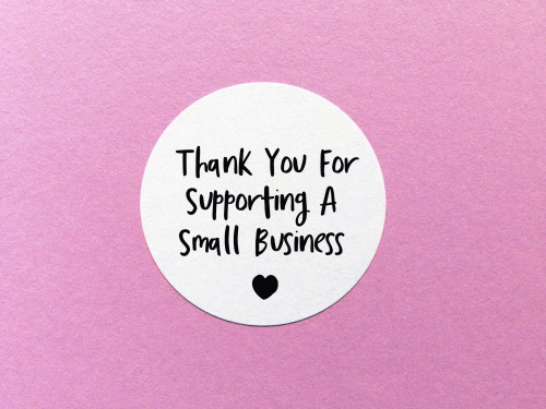 Favorite Baby Shower Favors Supporting A Thank You Stickers Joann Thank You Stickers Thank You Small Business Thank You