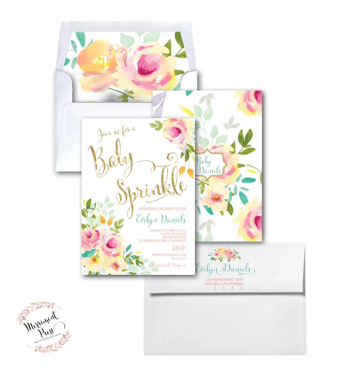 Fullsize Of Baby Sprinkle Invitations