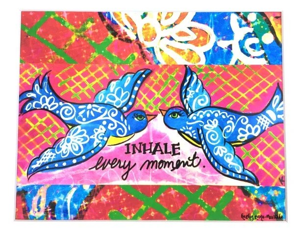 Inhale Every Moment Print...