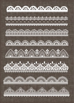 Masterly This Is A Digital File Lace Border Lace Borders Clipart Pack Digital Lace Black Lace Border Png Lace Border Png