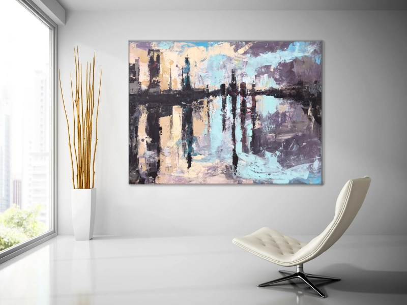 Large Of Abstract Canvas Art