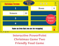 Small Of Christmas Family Feud