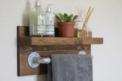 Small Of Industrial Bathroom Shelf