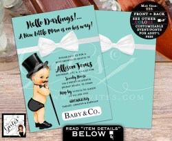 Small Of Little Man Baby Shower