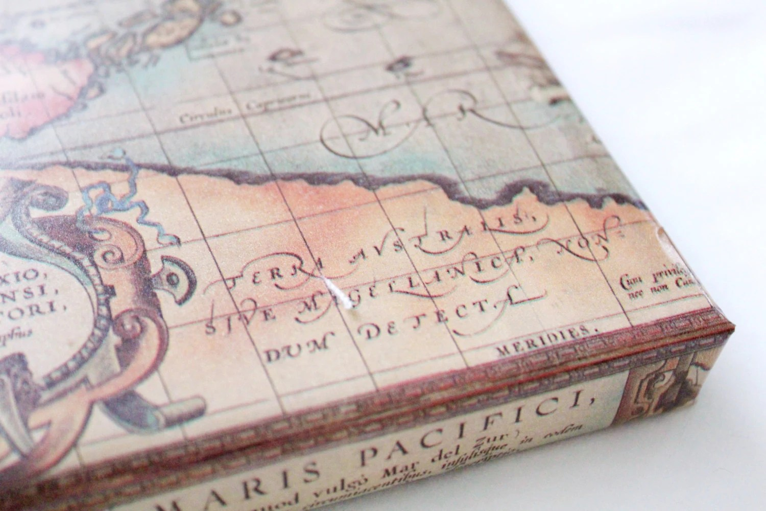 Old World Map Wrapping Paper 2X10 ft Masculine Gifts         zoom