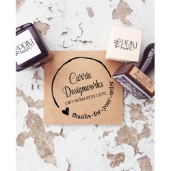 Eye Custom Logo Business Card Thank You Business Stamp Small Custom Logo Rubber Stamp Custom Logo Rubber Stamps Near Me