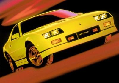 Chevrolet Camaro Z28 IROC-Z 1985–90 wallpapers