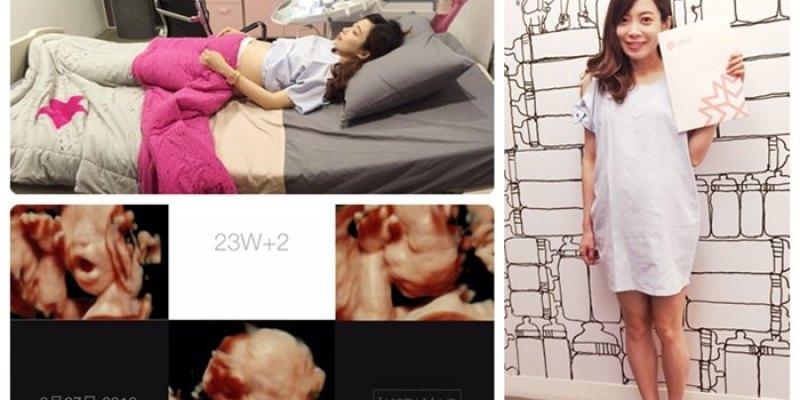 【孕婦日記】23W的高層次超音波@禾馨婦產科(懷寧)
