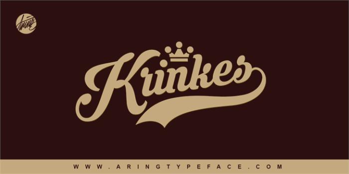 Krinkes Font Download