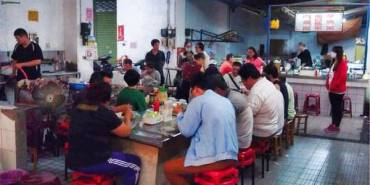 【台南市-鹽水區】張瑞芳豬頭飯 鹽水公有市場老攤