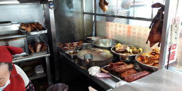 【台南市-北區】華園燒臘  多年以來的五十元大雞腿便當…