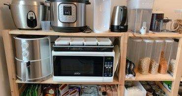 收納|一字型廚房的極致擴充