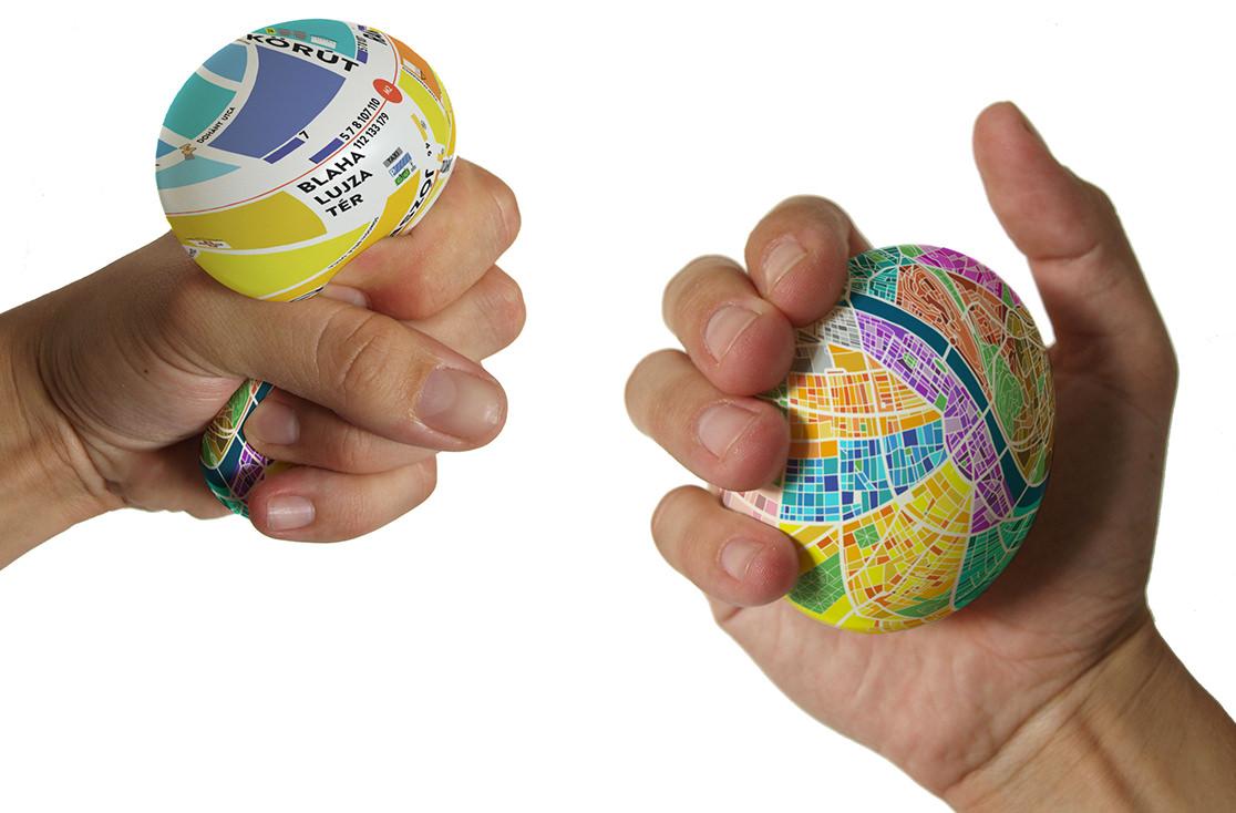 产品设计 [文创设计]趣味奇趣蛋地图