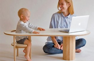 [家具設計]孩童專屬板凳桌