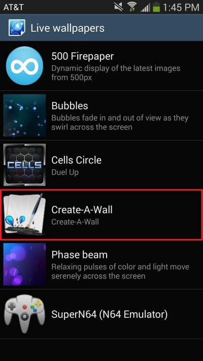 How to Add Floating Live Animations to Any Custom Wallpaper on a Galaxy Note 3 « Samsung Galaxy ...