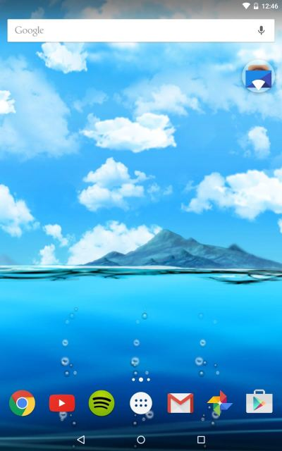 This Live Wallpaper Uses Ocean Water Levels to Display Your Android's Battery Life « Android ...