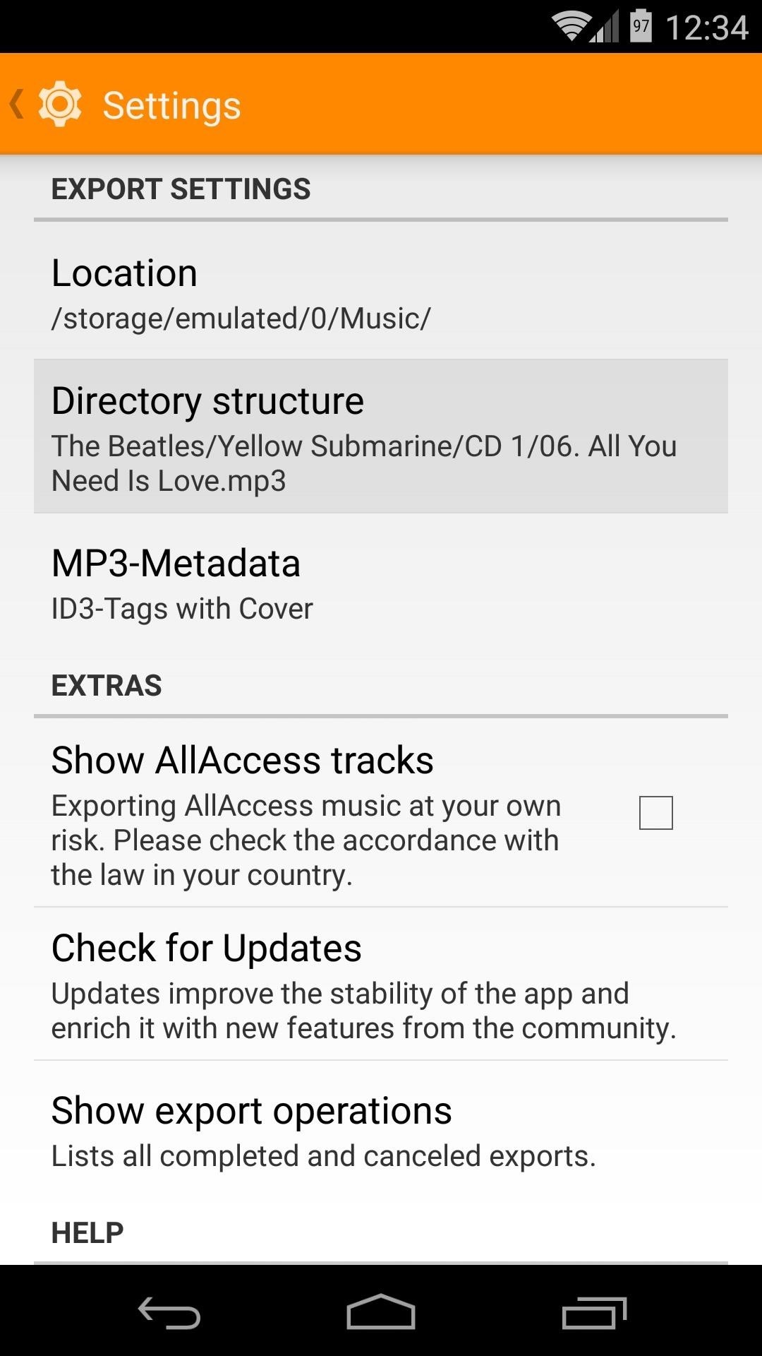 Glomorous Tick Box Next To Show Allaccess Tracks If You Want To Be Able Todownload Songs Played From All Access How To Download Songs From Google Play Music Any Offline Use photos Download All Photos From Google Photos
