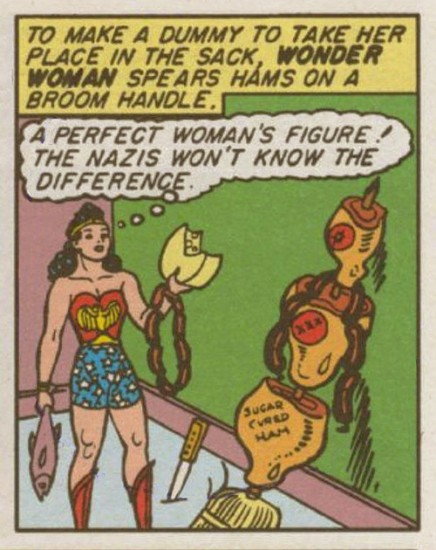 Wonder Woman...not so wonderful