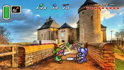 Real-Life Photos Mixed With 16-Bit Video Games Are Amazing ...