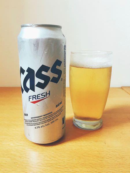 【 CASS Fresh Beer 】韓國CASS啤酒 | Korea Beer