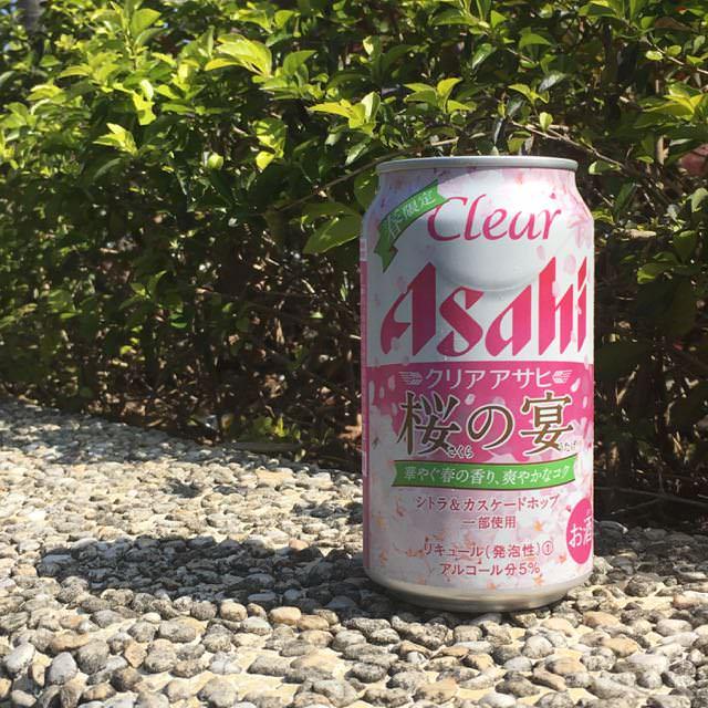 【ASAHI CLEAR SAKURA PACKAGE 】 COSTCO    日本ASAHI CLEAR 櫻之宴啤酒   春限定