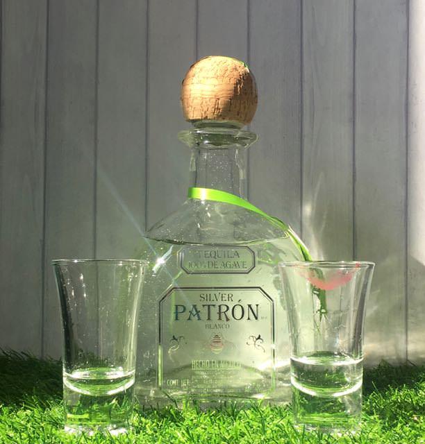 【 PATRON SILVER TEQUILA】綠色包裝龍舌蘭   BLANCO PATRON