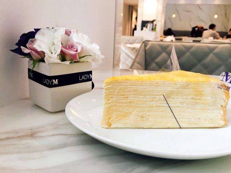 Lady M Taiwan  》國父紀念館捷運站蛋糕店 | Taipei Mille Crêpes