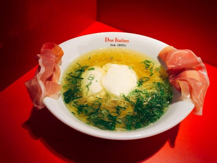 Due Italian 日本拉麵 》 生火腿起司拉麵 | Taipei Ramen