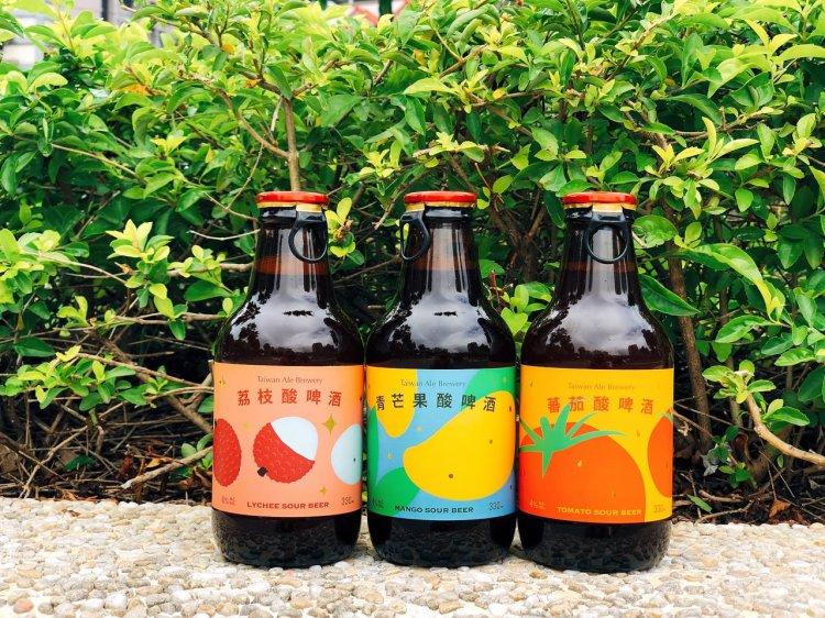 台灣艾爾精釀啤酒 》不用開罐器的水果酸啤酒 | Taiwan Sour Beer
