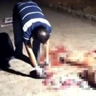 【グロ動画:報復】レイプ犯に報復m9(゚д゚)!バラバラにしてやったでー!