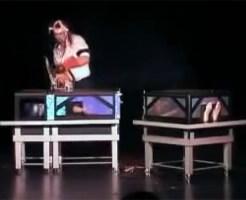 【グロ動画:鳥肌】マジック失敗・・・嫁の首をチェーンソーで切断する・・・