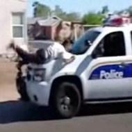 【衝撃映像】泥棒の逮捕劇がカッコよすぎるwあと泥棒ドジすぎw
