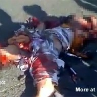 【グロ動画】ボロ雑巾の様になったグッチャグチャの死体