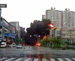 【墜落事故】韓国光州のヘリ墜落事故の鮮明な映像が流出!