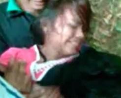 【本物レイプ】美少女が少年達に羽交い絞めにされ野外で犯されるガチレイプ映像